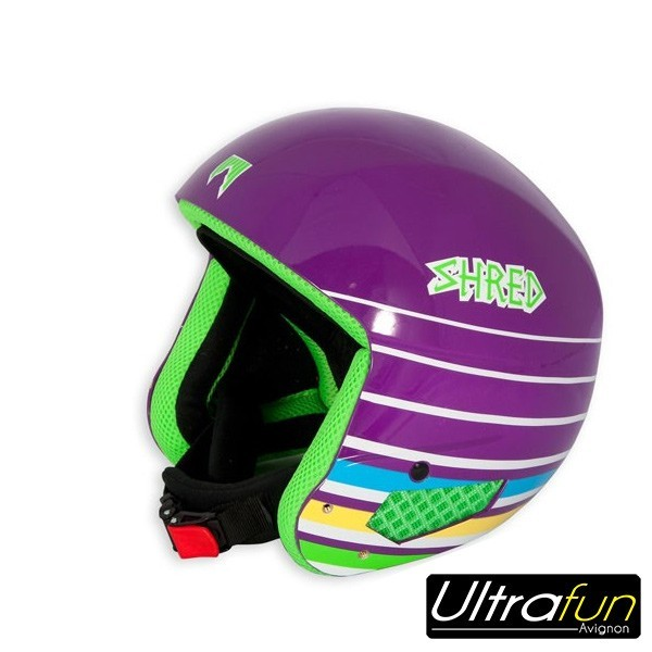 CASQUE SHRED MEGA BRAIN BUCKET LINES PURPLE