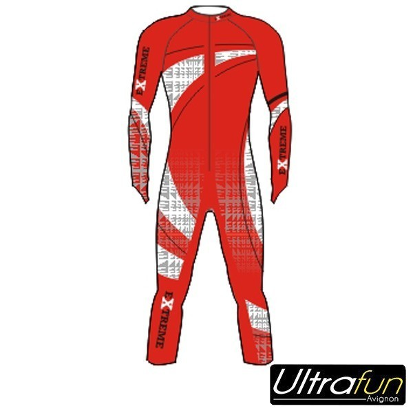 EXTREME JUNIOR WINTER RACESUIT COMPETITION ROUGE