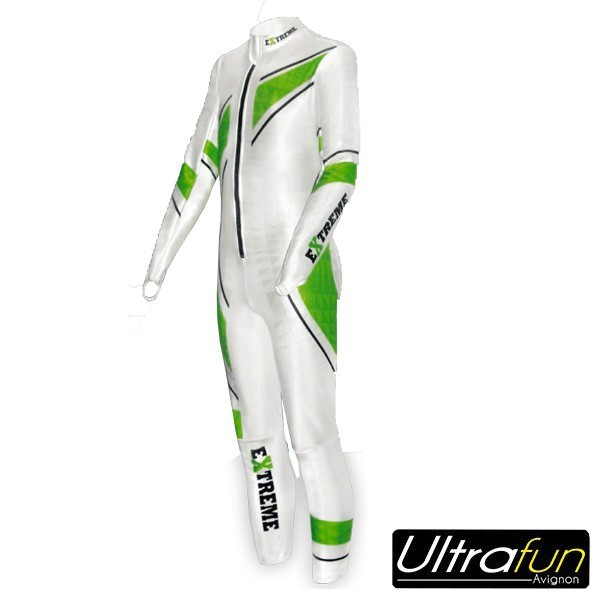 EXTREME JUNIOR WINTER RACESUIT COMPETITION BLANCHE