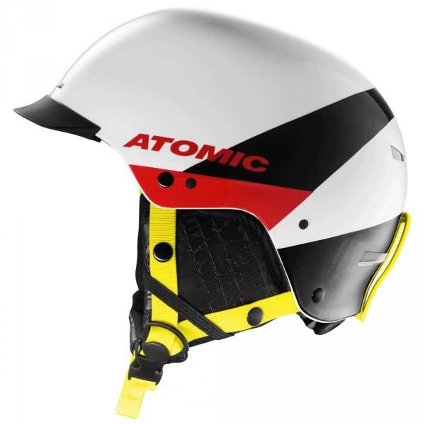 Atomic Casque  Troop SL White + Barre