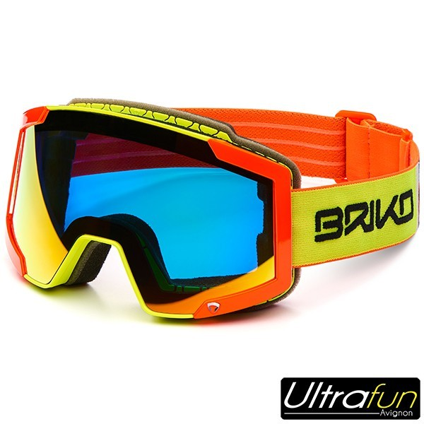 BRIKO MASQUE LAVA 7.6 ORANGE FLUO