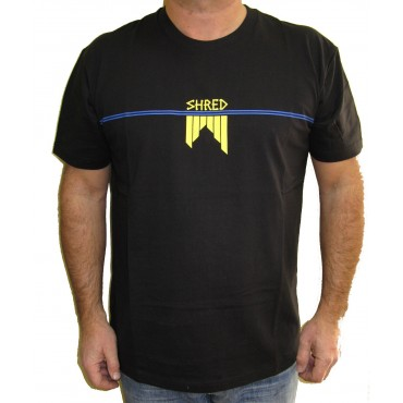 T-SHIRT SHRED 80'S Black