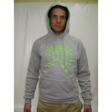 SWEAT SHRED CROOKED LOGO GREY