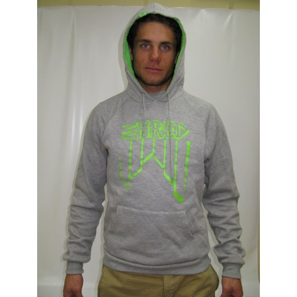 SWEAT SHRED CROOKED LOGO GRIS