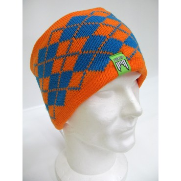 HEADBAND SHRED REDUX ORANGE/BLUE