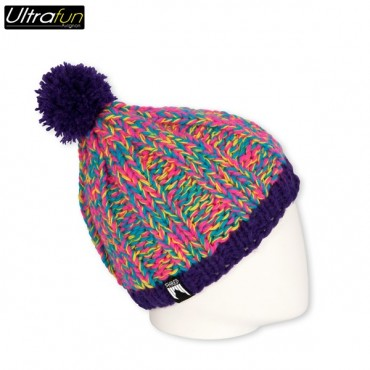 BEANIE SHRED MARBLE PURPLE