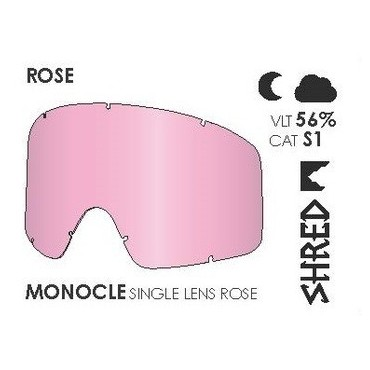 SHRED ECRAN MONOCLE SIMPLE ROSE