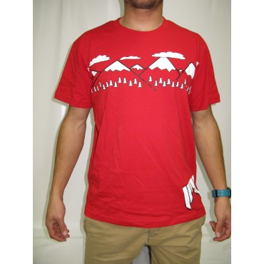 SHRED T-SHIRT NEEDMORESNOW ROUGE