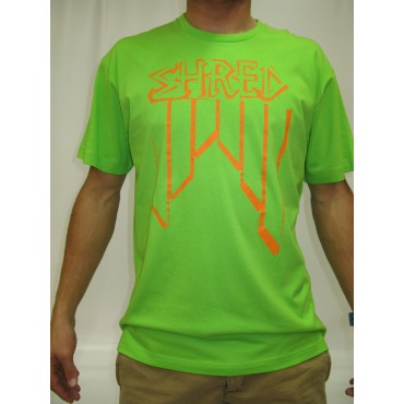 SHRED T-SHIRT CROOKED VERT