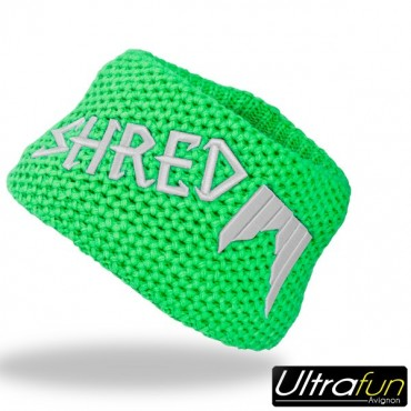 SHRED BANDEAU HEAVY KNITTED VERT