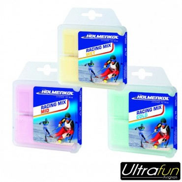HOLMENKOL RACING MIX HF HIGH FLUOR 2x35g