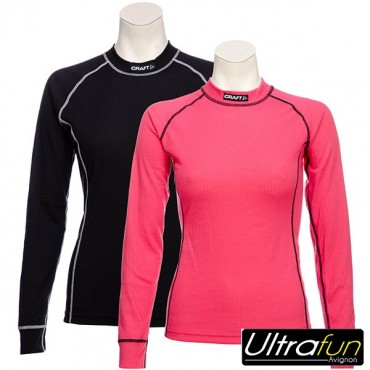 CRAFT SOUS VETEMENT MULTI 2 PACK BE ACTIVE WARM FEMME NOIR ET ROSE