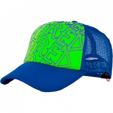 SHRED CASQUETTE TRUCKER BLUE/GREEN