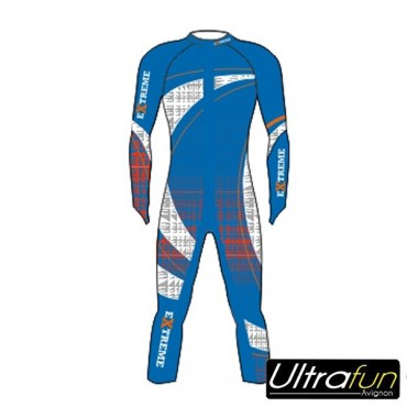 EXTREME WINTER RACESUIT COMPETITION BLEU