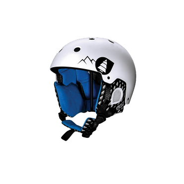 PICTURE CASQUE SYMBOL WHITE
