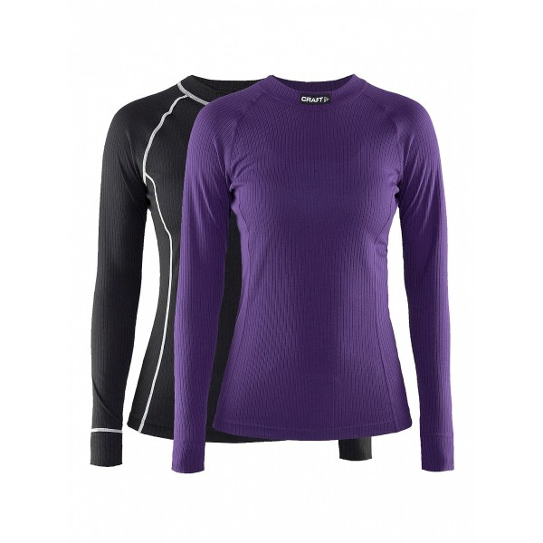 CRAFT BE ACTIVE FEMME 2 PACK MULTI TOP SOUS-VETEMENT