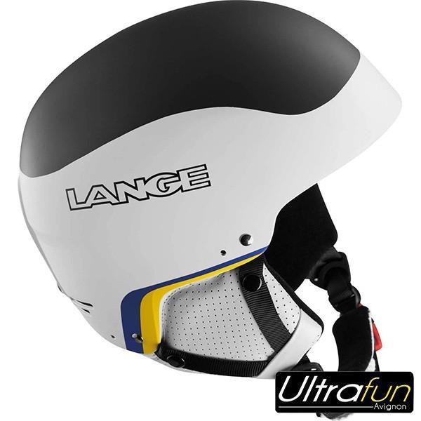 LANGE CASQUE RACE SL + BARRE NOIR