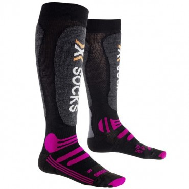 X SOCKS SKI ALL ROUND CHAUSSETTES LADY PURPLE