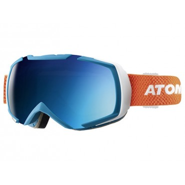 MASQUE DE SKI ATOMIC REVEL RACING BLUE/BLUE