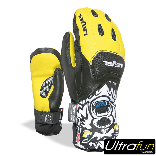 MOUFLE LEVEL JUNIOR SQ CF JAUNE