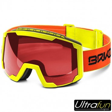 BRIKO MASQUE LAVA ORANGE FLUO JUNIOR