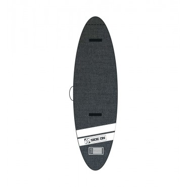 SIDE ON HOUSSE SUP PADDLE