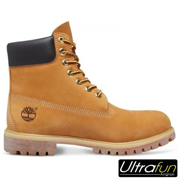 TIMBERLAND BOTTINE FEMME PREMIUM JAUNE Ultra Fun