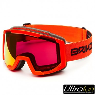 BRIKO MASQUE LAVA JUNIOR ORANGE FLUO