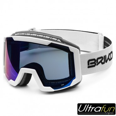 BRIKO MASQUE LAVA JUNIOR BLANC