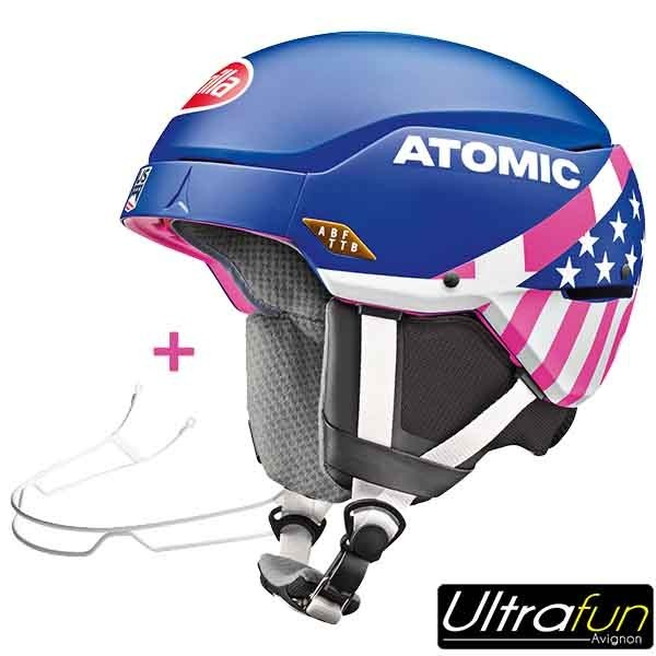 CASQUE ATOMIC COUNT AMID RS MIKAELA SHIFFRIN + BARRE