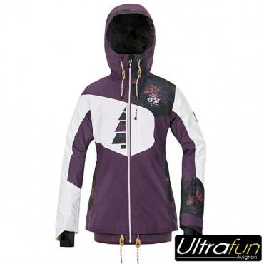 Veste de ski femme violet