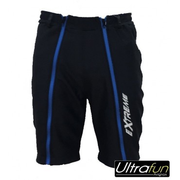 EXTREME WINTER SHORT JR COMBAT NOIR BLEU