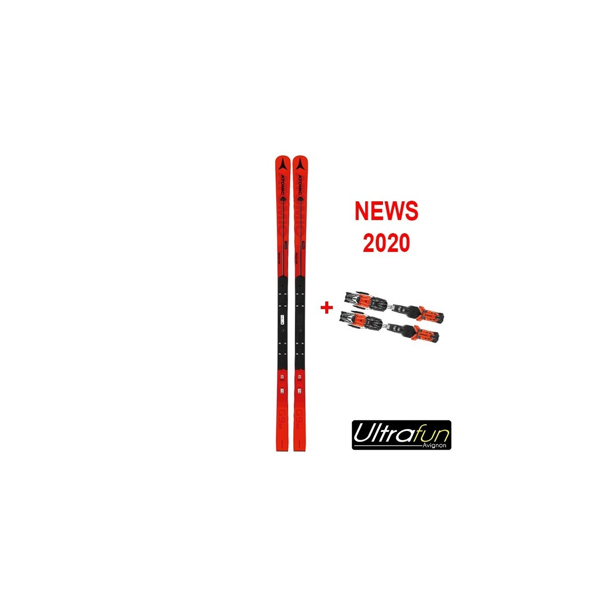 ATOMIC REDSTER FIS G9 + FIXATION 2020