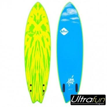 "SURF MASON TWIN 5'2"" LIME/YELLOW"