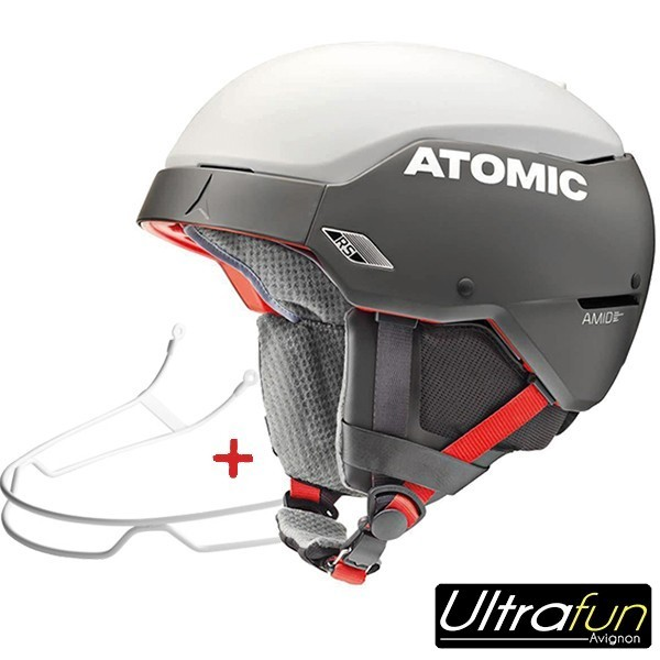 CASQUE ATOMIC COUNT AMID RS BLANC + BARRE