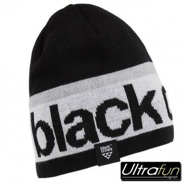 BLACK CROWS BONNET CALVA LOGO BLACK
