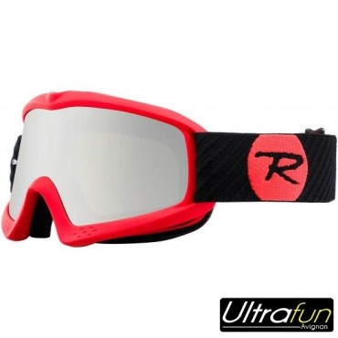 ROSSIGNOL MASQUE RAFFISH HERO JUNIOR ROUGE