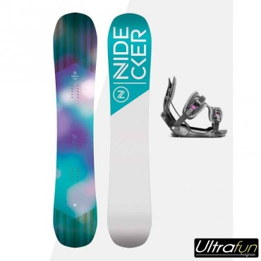NDK PACK SNOWBOARD ANGEL + FIXATION HAYLO