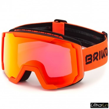 BRIKO MASQUE LAVA FIS ORANGE FLUO JUNIOR
