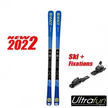 SALOMON S/RACE GS PRO + FIXATION 2020