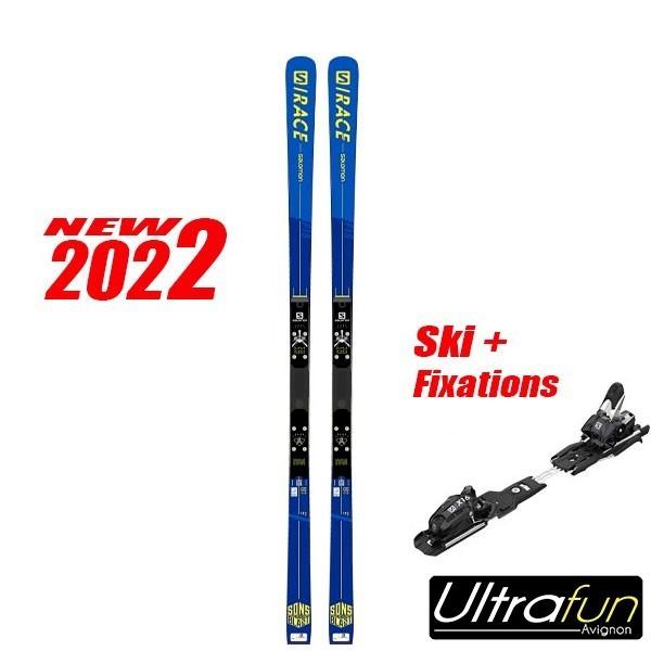 SALOMON S/RACE GS FIS + FIXATION 2021