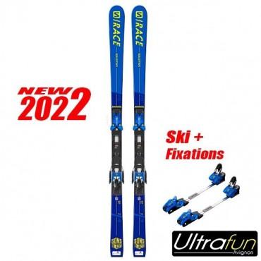 SALOMON S/RACE GS FIS JR + FIXATION 2021