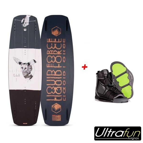 LIQUID FORCE PACK WAKEBOARD FLX + CHAUSSE