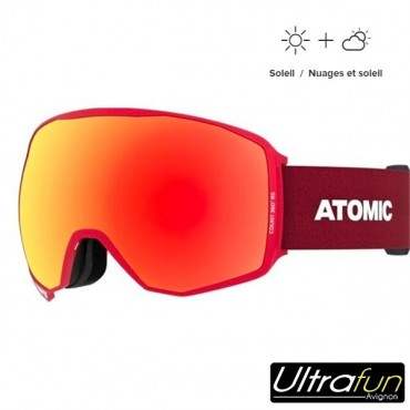MASQUE ATOMIC COUNT 360 HD RS ROUGE