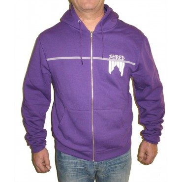 SWEAT SHRED A CAPUCHE Violet