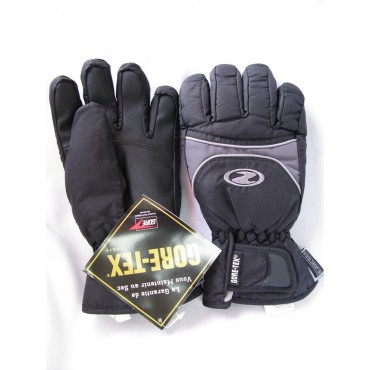 ZIENER Jr GLOVES WAKE GT Black